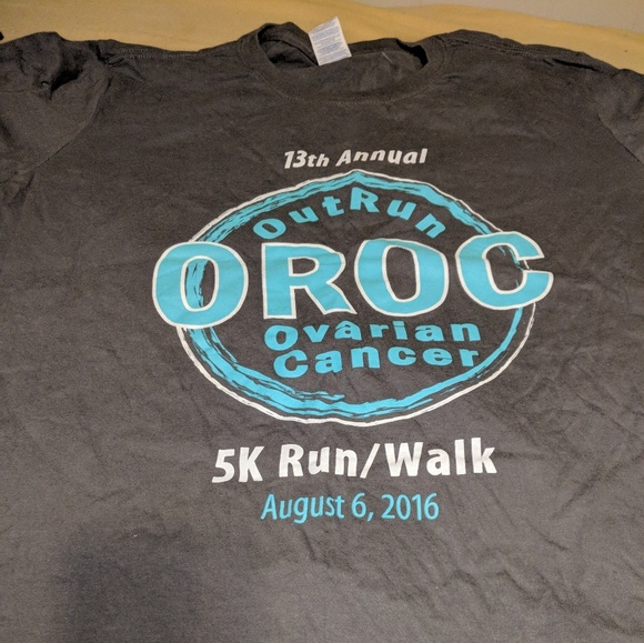 Tops 13th Annual Ovarian Cancer Outrun Walk Tshirt M Poshmark
